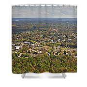 South View  Shower Curtain
