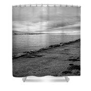 Southampton Lighthouse Shower Curtain