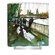 Southbank Shower Curtain