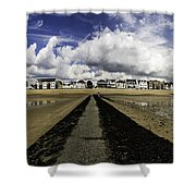 Southend On Sea Panorama Shower Curtain