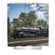 Southern 4501 At Railfest 2015 - 3 Shower Curtain