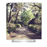 Southern Beauty 2 - Tallahassee, Florida Shower Curtain