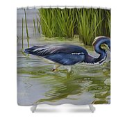 Southern Blues Shower Curtain
