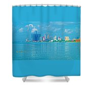 Southern Border Crossers Shower Curtain