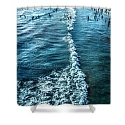 Southern California Beach Shower Curtain