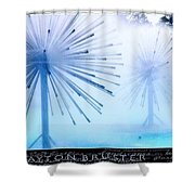 Southern California Fountains Shower Curtain by Clayton Bruster