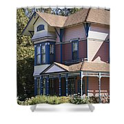 Southern California Painted Lady Shower Curtain