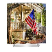 Southern Charm Shower Curtain by Benanne Stiens