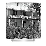 Southern Charm Black And White Shower Curtain