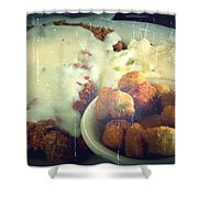 Southern Comfort Deep Fried Shower Curtain