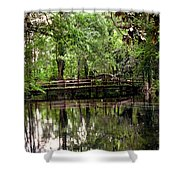 Plantation Living Shower Curtain