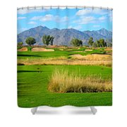 Southern Dunes Golf Club - Hole #14 Shower Curtain