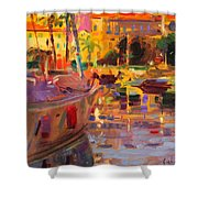 Southern French Port Shower Curtain