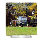 Southern Garden Adornment Shower Curtain