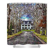 Southern Gothic Shower Curtain
