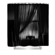 Southern Gothic The Empty Chair Shower Curtain
