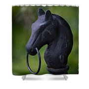Southern Horse Head  Shower Curtain