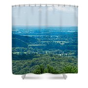 Southern Illinois Shower Curtain