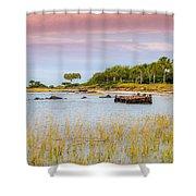 Southern Living - Sullivan's Island Sc Shower Curtain