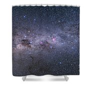 Southern Milky Way From Vela Shower Curtain