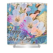 Southern Missouri Wildflowers -1 Mother's Day Card Shower Curtain