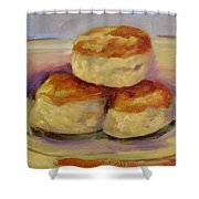 Southern Morning Fare Shower Curtain