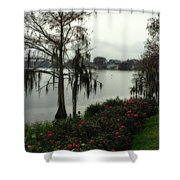 Southern Moss Shower Curtain