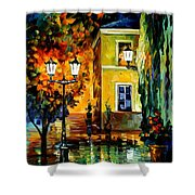 Southern Night Shower Curtain