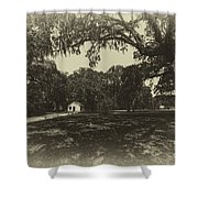 Southern Plantation Path Shower Curtain