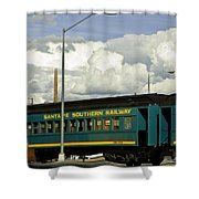 Southern Railway Shower Curtain
