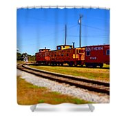 Southern Surreal 6 Shower Curtain
