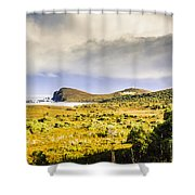 Southern Tip Of Bruny Island Shower Curtain
