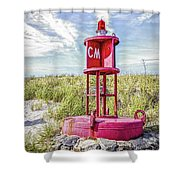 Southernmost Point Buoy- Cape May Nj Shower Curtain