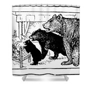 Southey: Three Bears, 1892 Shower Curtain