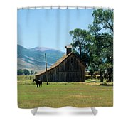 Southfork Barn Shower Curtain