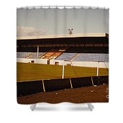 Southport Fc - Haig Avenue - Main Stand 2 - 1970s Shower Curtain