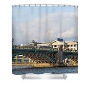 Southwark Bridge  Shower Curtain