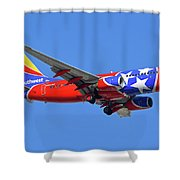 Southwest 737-7h4 N922wn Tennessee One Phoenix Sky Harbor November 28 2017 Shower Curtain