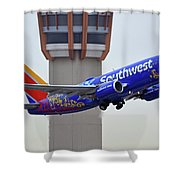 Southwest 737-7l9 N7816b Coco Phoenix Sky Harbor November 30 2017 Shower Curtain