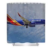 Southwest Airlines Boeing 737-76n Shower Curtain