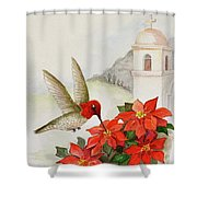 Southwest Christmas Shower Curtain