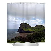 Southwest Coast Of Maui Shower Curtain