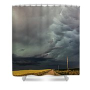 Southwest Nebraska Chase Day 017 Shower Curtain