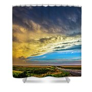 Southwest Nebraska Chase Day 046 Shower Curtain