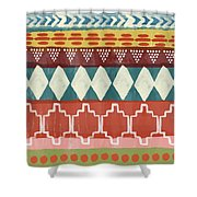 Southwestern 1- Art By Linda Woods Shower Curtain