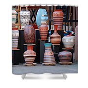 Southwestern Potery Shower Curtain