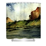 Southwestern Sky Shower Curtain