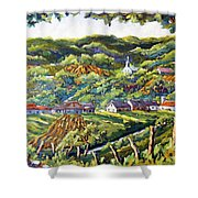 Souvenir 04 By Prankearts Shower Curtain