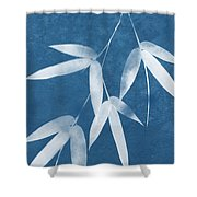 Spa Bamboo 1-art By Linda Woods Shower Curtain
