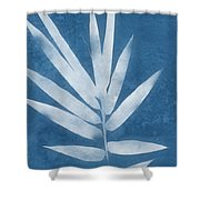 Spa Bamboo 2- Art By Linda Woods Shower Curtain